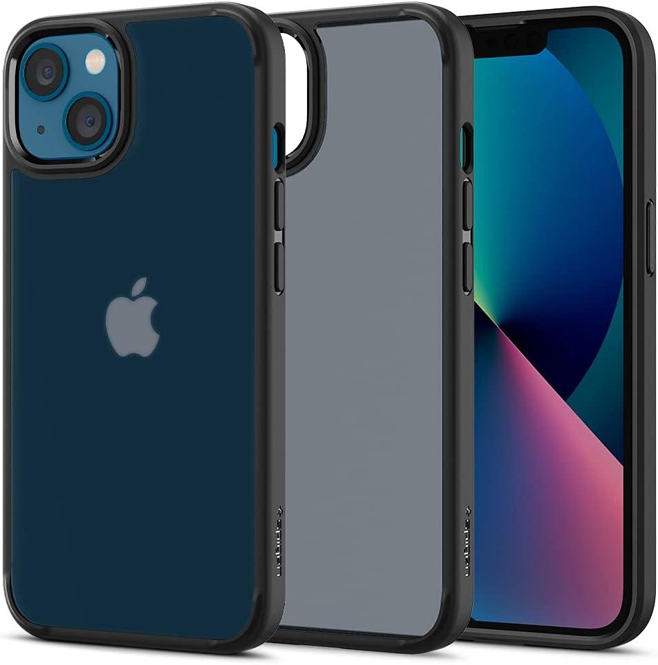 Spigen Ultra Hybrid Designed for iPhone 13 Case (2021) - Frost Black