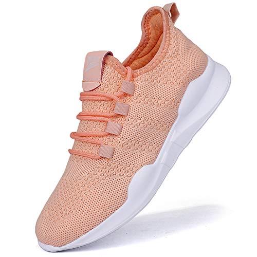 Damen Laufschuhe Turnschuhe Sportschuhe Sneaker Running Tennis Schuhe Freizeit Straßenlaufschuhe Fashion Leichtgewichts Atmungsaktiv Walkingschuhe Outdoor Fitness Jogging Sportsschuhe 37