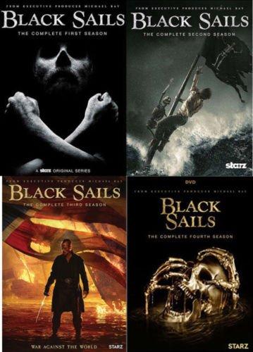 Black Sails Seasons 1- 4 DVD