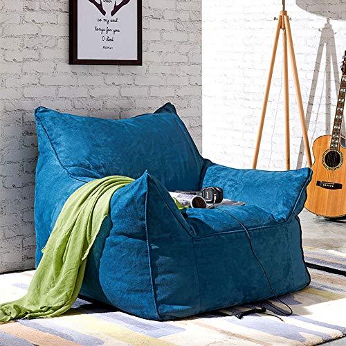 XUE Bean Bag Chaise, Sac de Meubles en Mousse mémoire et Grand Transat-Grand canapé avec Doux Micro Fibre Couverture extérieur et intérieur Adulte Jeu Jardin siège Chaise Sol