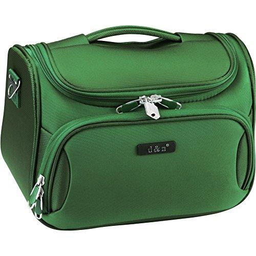 D&N Travel Line 7904 Kosmetikkoffer, 33 cm, 14L, grün