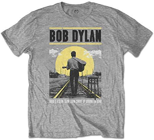 Mens Bob Dylan Classic Breathable Short-Sleeve Crewneck Cotton T-Shirt Black
