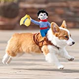 Haustier Kostüm Hund Kostüm Haustier Anzug Cowboy Reiter Stil,Haustierge Kleidung haustier...