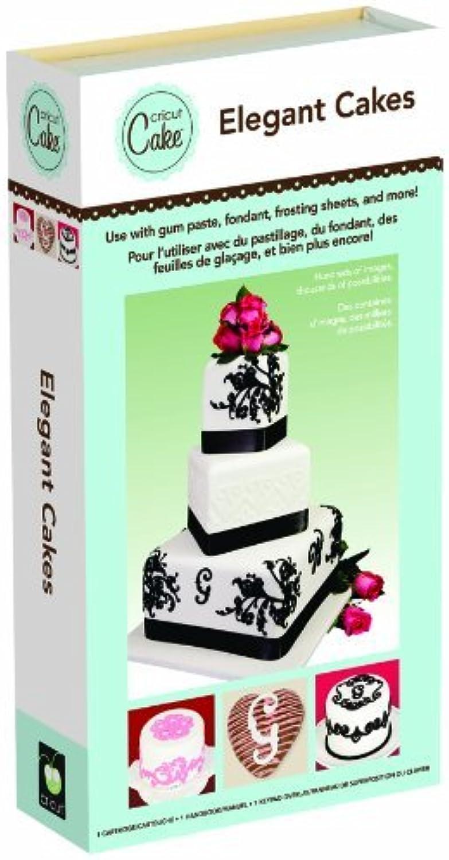 Provo Craft & Novelty  Cricut Cake Cartridge, Elegant Cakes