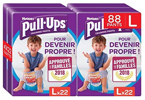 Huggies Pull-Ups Disney luiers 88 luiers voor baby's en jongens, om schoon te maken, maat L 6