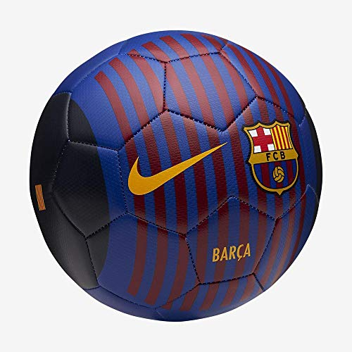 Nike Fußball FC Barcelona Prestige, Deep Royal Blu/Noble Red/University Gold, 5, SC3283-455
