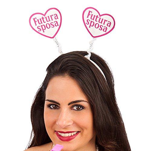 Haarband hart toekomstige bruid C/CAV Art.6623 Carnival Toys