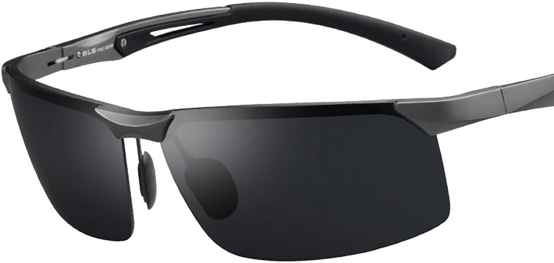 Sonnenbrillen Männer Sonnenbrillen Polarisierte Polarisierte Polarisierte Sonnenbrillen Gezeiten Menschen Fahren Spezielle Fahrer Augen Fahren Brille Angeln Brille Brille (Farbe   B) B07B2C8D6P  Verpackungsvielfalt 595d40