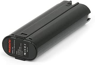 POWERAXIS .2V 1.3Ah Battery Replacement for Makita 7000 7002 7033, 6010D 6172D DA3000D 6018D 6019D 9500D DA301D 6073D ML702(Black)
