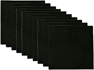 1 Pack of 6 Mini Canvases SL crafts Black Mini Stretched Canvas 4x4 Inch