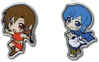 GE Official Vocaloid Metal Pin Set- Meiko & Kaito 1