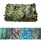 5Mx6 / 8 / 10M Camouflage Camo Net, Filets de Protection Solaire for Arbres Couvrant...