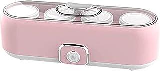 BJH Yaourtière multifonctionnelle Mini Petite Machine à crème glacée Maison Desserts Bricolage Faits Maison