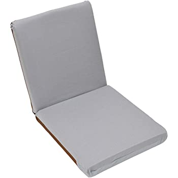 座椅子 リクライニング 7段階 コンパクト 軽量 日本製 ウレタンフォーム 色柄おまかせ フロアーチェア 在宅勤務 パソコン 在宅ワーク テレワーク リモートワーク