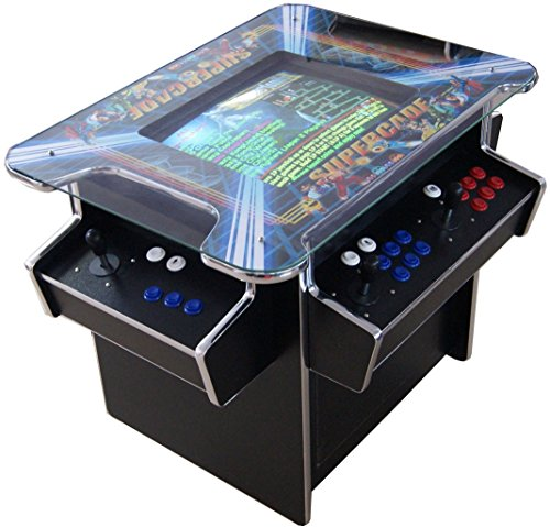 US-Way e.K. G-70 Arcade Cocktail Tisch Video Maschine TV Spielautomat Cabinet Automat 1293 Spiele Jamma Games Machine