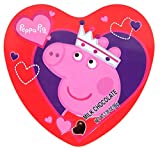 Peppa Pig Chocolate Candy Filled Tin, Birthday Gift for Granddaughter, 3.38 Ounces