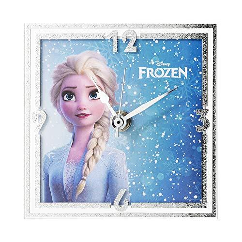 Disney Frozen Tafelklok voor nachtkastje en decoratie voor kinderen, ideaal als origineel cadeau voor geboorte, verjaardag of doop Elsa
