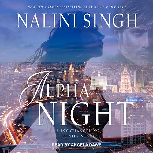 Alpha Night audiobook cover art
