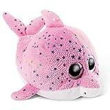 NICI Glubschis: El tierno Original Delfina 15 cm-Juguetes Criaturas Marinas, niños y bebés, Peluches Rosa con Grandes Ojos Brillantes para abrazar y Jugar, Color Blanco, (46964)