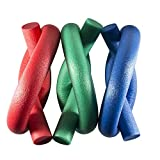 PhysioRoom Espuma de Rehabilitación Natación Natación Piscina de Ayuda Tallarines - Azul, Verde y Rojo, Extremadamente Duradero - Rojo
