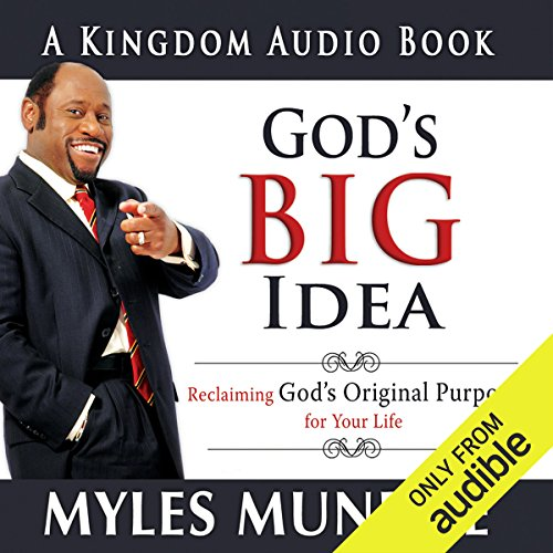 God's Big Idea audiobook cover art