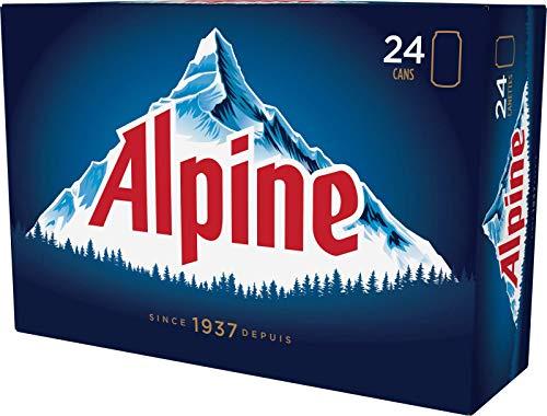 24 Dosen Moosehead Alpine Lager Dose aus Kanada mit 5% Alc Bier Beer