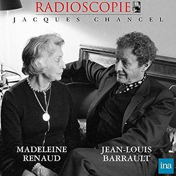 Radioscopie: Madeleine Renaud et Jean-Louis Barrault (24 décembre 1968)