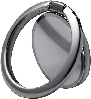 genyin スマホリング ホールドリング 薄型 スタンド機能 落下防止 車載ホルダー 360回転 iPhone/Android各種他対応