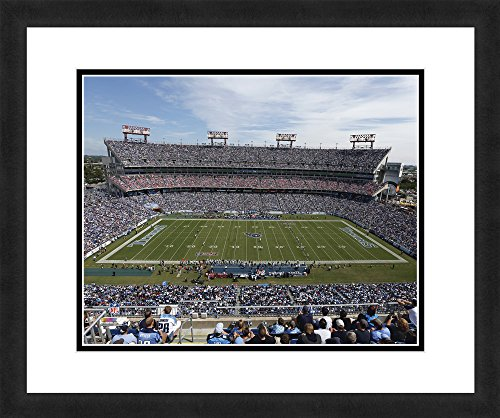 "NFL Tennessee Titans LP Field, Beautifully Framed and Double Matted, 18"" x 22"" Sports Photograph"