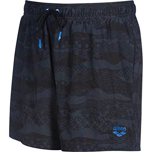 ARENA Bañador Jimbaran Short, Hombre, Black, XL