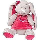 Noukie's-Peluche Pili la lapine (40 cm) - Rose