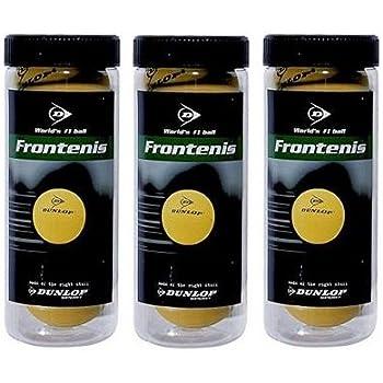 Dunlop 0503054 Pelota de Frontenis en Bote, Unisex Adulto ...