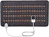 UTK Far Infrared Tourmaline Heating Pad for Full Back Pain Relief - Infrared Therapy Heating Pads - Medium T-Plus (38' X 21'), Auto Shut Off and Travel Bag Included