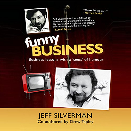 Funny Business audiobook cover art