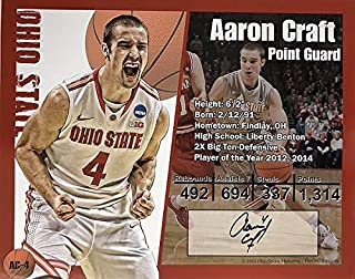 Aaron Craft Ohio State Buckeyes 16-6 16x20 Autographed Signed Photo - Certified Authentic