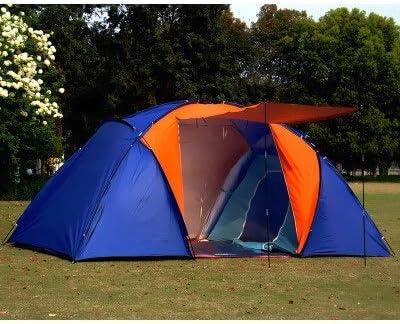 JDJD 5-8Person Camping Tienda Grande de Doble Capa Tienda ...
