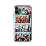 Pure Clear Phone Case Glee Compatible with iPhone 6 6s 7 8 X XS XR 11 Pro Max SE 2020 Samsung Galaxy Tested Bumper Absorption
