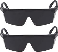 MERIGLARE 2x Soldagem, Corte, Soldadores Óculos de Segurança Óculos Industriais Proteção para Os Olhos