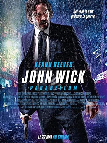 Affiche Cinéma Originale Grand Format - John Wick : Parabellum (Format 120 x 160 cm pliée) Année 2019