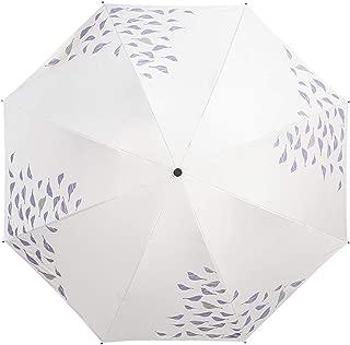 YQRYP Mini Manual Folding Umbrella ,CompactSun Umbrella&RainUmbrella - Lightweight Portable Outdoor Parasol for Everyone Windproof Umbrella, Golf Umbrella (Color : Purple)