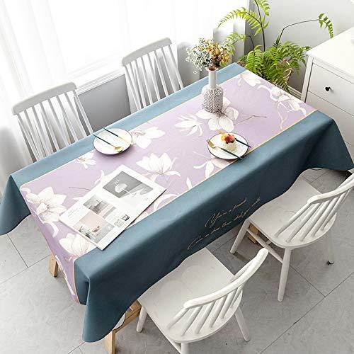 Nieuwe Chinese stijl Chinese stijl inkt tafelkleed waterdicht olie-proof oude stijl vierkante salontafel eettafel tafelkleed rechthoekige tafelkleed