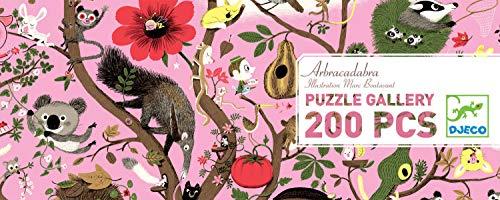 Djeco Puzzle Gallery Arbracadabra 200 teilig