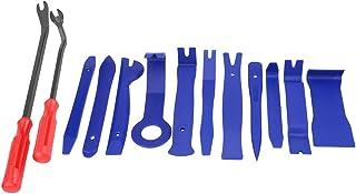 Cuque 13 Pcs Auto Trim Removal Tool Car Interior Dashboard Radio Audio Door Panel Clip Opening Tool Kit with Fastener Remo...