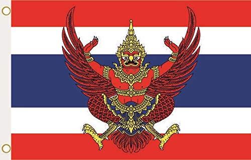 U24 Flagge Fahne Thailand mit Wappen 90 x 150 cm