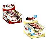 Ferrero Duplo und Duplo white je 40 Riegel (1456g)