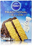 Pillsbury Traditional Yellow Cake Mix 15.25 Oz (Pack of 2) All you need: Water, Oil, & Eggs Makes a moist traditional yellow cake Makes 24 cupcakes