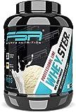 Whey Protein Eiweißpulver - Besser als ein Milchshake - Aspartamfrei, Laktosearm - Made in Germany - FSA Nutrition - 900 g - Vanilla Ice Cream