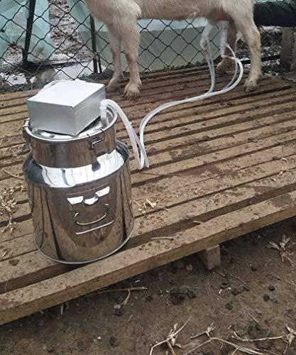XUEBAOBAO Rancho Suministros Vaca Leche Bombeo Vaca ordeñadora ovejas ordeño Cordero Cabra Ganado hogar eléctrico succión Leche Leche ordeñadora Animal ganadería Suministros