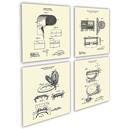 Top 10 best selling list for toilet paper holder patent image