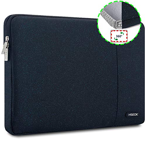HSEOK Blue Stars Laptop Sleeve 15-15.6 Inch Case for Most 15.6' MacBook Notebooks, Spill and Drop Resistant Carrying Case for HP Lenovo ASUS DELL Toshiba